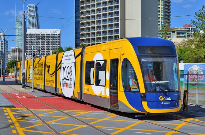 Gold Coast Light Rail (Stage 1), Gold Coast, QLD