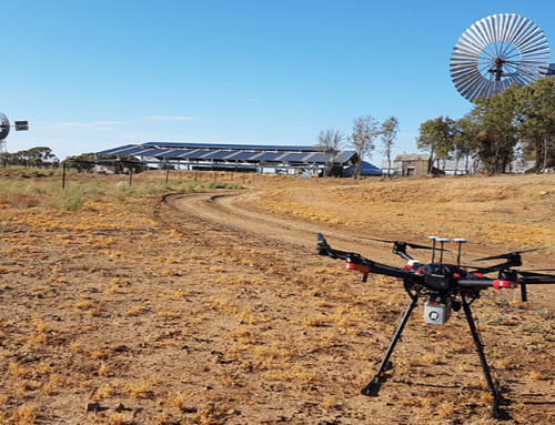 Capturing the outback with the latest drone technology