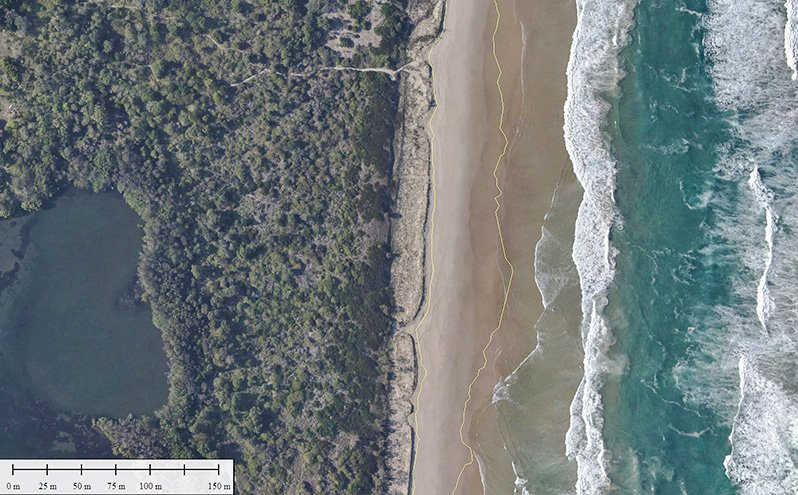 Tweed Bar Aerial Survey - section