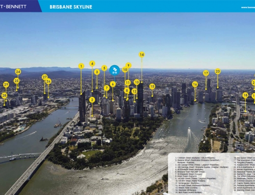 Brisbane Skyline 'City Shapers'