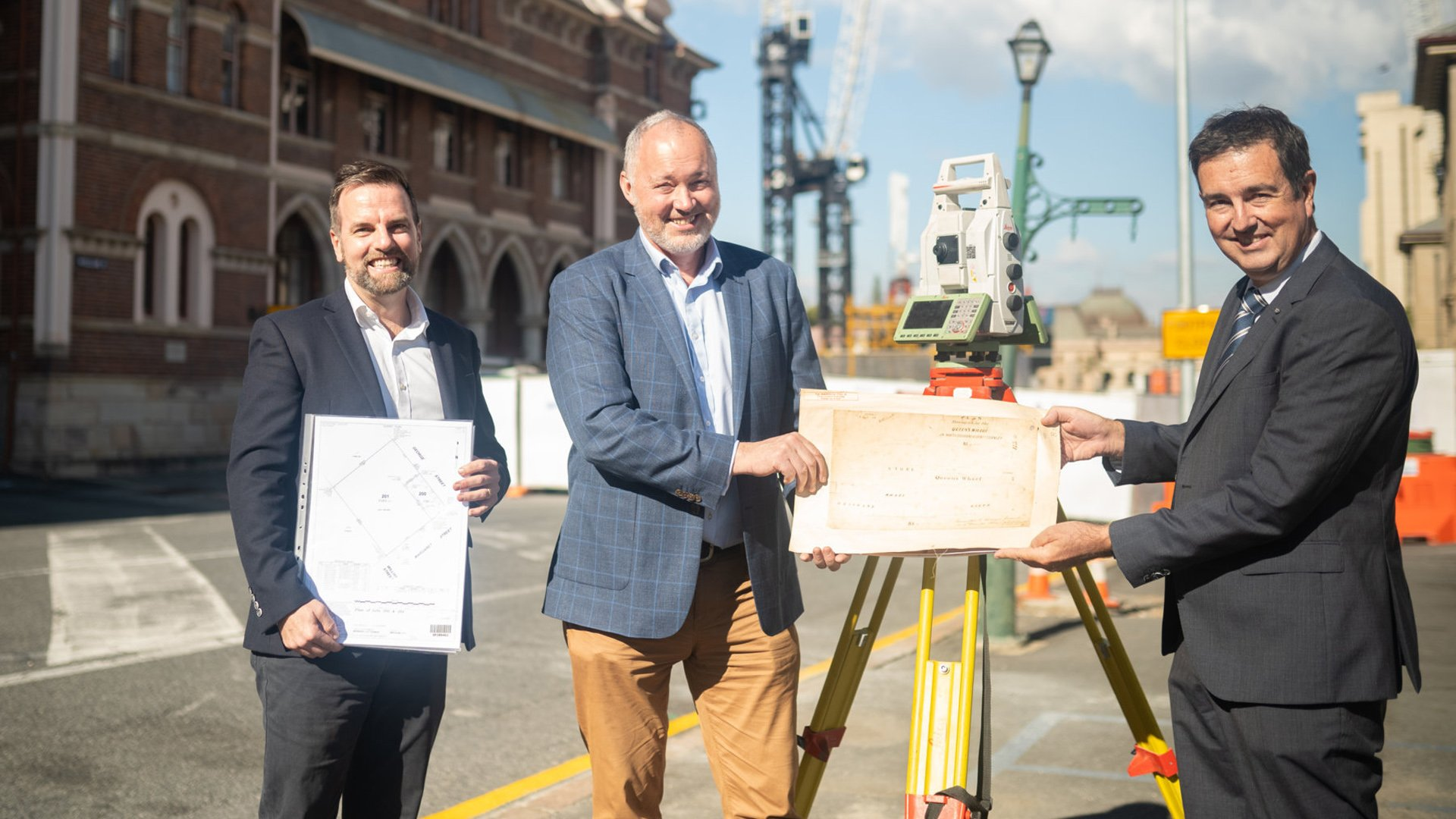 Queens Wharf – Reflecting on the  Original Plan of 1864